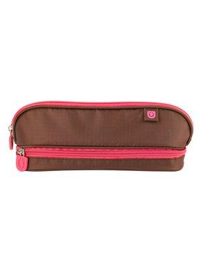 Zuca Pencil Case (Color: Brown/Pink)