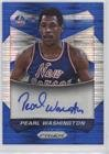 Pearl Washington #212/249 (Basketball Card) 2014-15 Panini Prizm - Autographs - Blue Pulsar Prizms #70