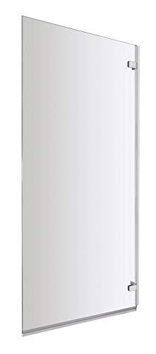 Jade ValueBaths recta baño cuadrada 5 mm de vidrio templado seguridad Reversible mampara de ducha con