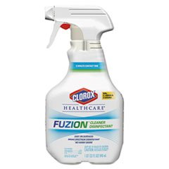 Clorox Healthcare Fuzion Cleaner Disinfectant, 32 Fluid Ounce -- 9 per case.