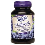 Welch's Natural Spread Grape Jelly 27 OZ (Pack of 24)
