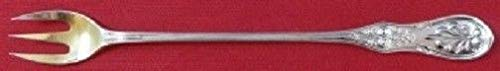 Saratoga By Tiffany and Co. Sterling Silver Oyster Fork Goldwashed 6