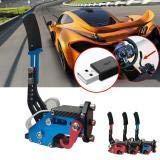 14Bit PC USB Racing Game Drift Handbrake,Universal Adjustable Height Handbrake Drift For Racing Games G25//27//29
