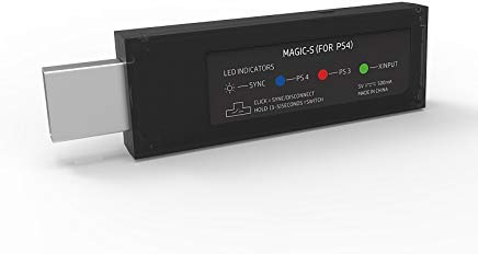 MAGIC-S Wireless Controller Adapter for PS4, PS3, PC, NeoGeo mini