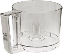 Cuisinart DLC-2014WBN-1 Work Bowl with Handle, White by Cuisinart