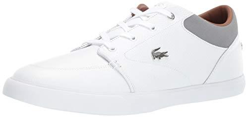 Lacoste Men's Bayliss Sneaker, White/Grey, 12.5 Medium US ()