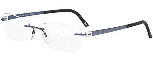 (Eyeglasses Silhouette Titan Accent (5452) 4496 6059 powder blue 52/17/130 3 pi )