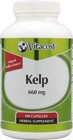 Vitacost Kelp -- 660 mg - 180 Capsules
