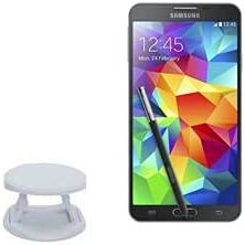 Phone Grip for Galaxy Note 4 (Phone Grip by BoxWave) - SnapGrip Tilt Holder, Back Grip Enhancer Tilt Stand for Galaxy Note 4, Samsung Galaxy Note 4 - Winter White