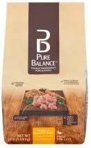 Pure Balance Grain-Free Chicken Brown Rice Dry Cat Food, 3.5 Lb