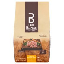 Pure Balance Grain-Free Chicken & Brown Rice Dry Cat Food, 3.5 Lb - Pack of 2