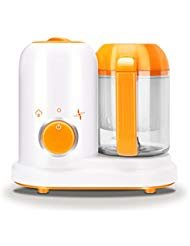 Portable Baby Puree Food Processor Steamer Blender,All in One Unit,True Time-Saving ,Mini Baby Food Maker Kit Machine Manual