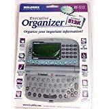 New RF-512 Franklin Rolodex Electronics Executive Organizer 512K hand held PDA Data Digital Data Protection ()