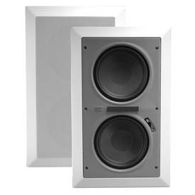 MTX HTS28W Dual 8'' Home Theater In-Wall Subwoofer by MTX