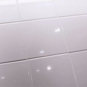 4Trade White Tile 150mm x 150mm -For indoor use only- A plain white on construction schedule for a bathroom, plain white kitchen cabinets, plain white granite, antique white tile bathroom,