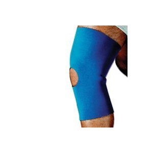 Sportaid Knee Brace (Knee Brace Sleeve Open Patella Neoprene Blue Sportaid, Small of size: 13 X 14 Inches - 1 ea)