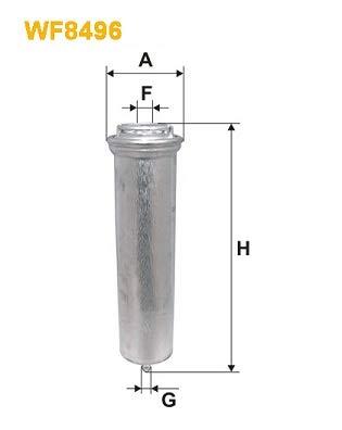 WIX FILTERS WIXFILTERS WF8496 Fuel Injectors: