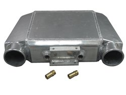 (CXRacing-Liquid Water to Air Intercooler 19.5