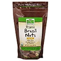 Organic Brazil Nuts Unsalted, Unsalted 10 oz (Pack of 3)