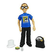 Robot Exclusive (Jazwares Robot Chicken 2010 SDCC San Diego Comic Con Exclusive Action Figure Nerd)
