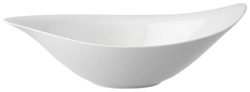New Cottage Salad Serving Bowl by Villeroy & Boch - Premium Porcelain - Made in Germany - Dishwasher and Microwave Safe - 17.75 x 12 Inches - Villeroy & Boch Microwave Safe Bowls