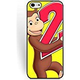 Personalized Cartoon Anime Pattern Series Iphone 6s Case/Iphone 6 Case Protective for Boys, Iphone 6/6s (4.7 Inch) Phone Case Curious George A Halloween Boo Suit Cartoon Characters -
