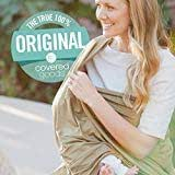 4-in-1 Breastfeeding and Car Seat Cover, Nursing Scarf (Army)