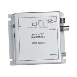 AMERICAN FIBERTEK MTM300CS SINGLE CH MDL VID TRANSMITTER LOW PROFIL