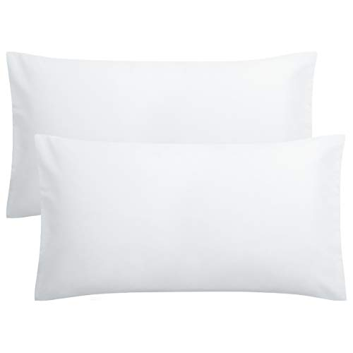 FLXXIE 2 Pack Microfiber King Pillowcases, Envelope Closure, Ultra Soft and Premium Quality, 20