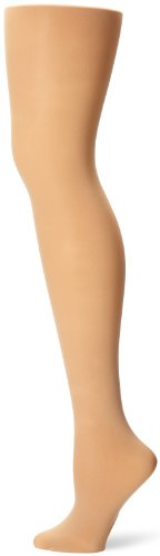 Capezio Women's Ultra Soft Transition Tight,Caramel,Small/Medium