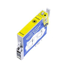 Ink Now Premium Remanufactured Yellow Cartridge for Epson Stylus Photo R800, R1800 Printers, OEM part number T054420 -  RT054420