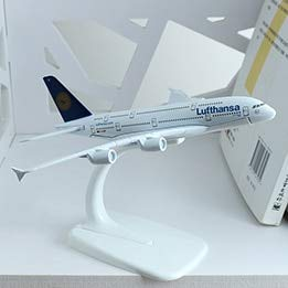 FairOnly 16cm El Al Israel Boeing 777 Airlines Airplane Model Bangkok Finsh A320 German Lufthansa A380 Aircraft Israel Airway Model 1:400 Lufthansa A380