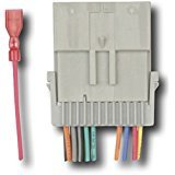 Metra - Wiring Harness for Select 1998-2008 GM Vehicles - Gray - IBR-WHGM3