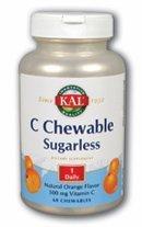 Sugarless Chewable - C Chewable Sugarless Orange Kal 60 Chewable