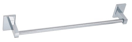 つや消しニッケルGenevaシリーズ24インチタオルバー クローム GEN80024CH B001C7S106クロム