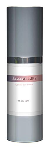 LUX Allure Ageless Eye Serum- Premium Under Eye Treatment- Advanced Anti-Aging Formula Restores Hydration and Youthful Glow to Skin (.5 ounce)
