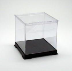 [Collection] transparent plastic case figure doll case Case W 18 x D 18 x H 18 (cm) (japan import) by Octagon