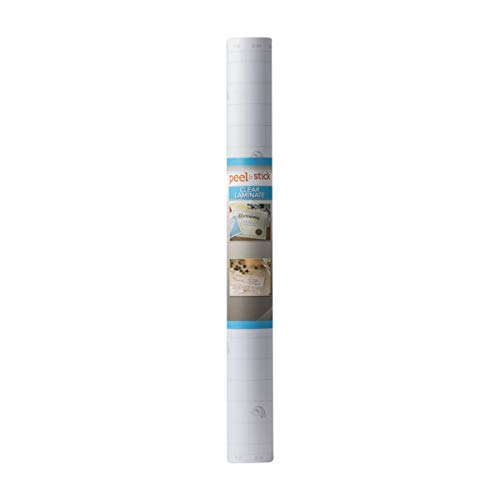 Duck Brand Deco Adhesive Laminate, 20 in. x 30 ft, Clear