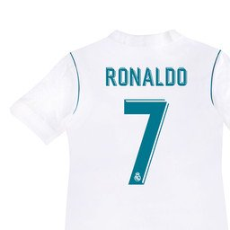 newest 90a80 af64b aaDDa Sportswear Non Branded Ronaldo Print Real Madrid Homes Kids Fan  Jersey with Shorts