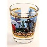 Washington State Wraparound Shot Glass