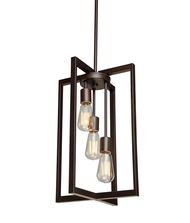 Artcraft Lighting Gastown 3-Light Mini Pendant, Oil Rubbed Bronze