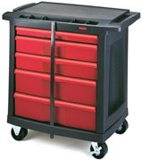 - Trade Cart/Service Bench, 19-13/16 In. W