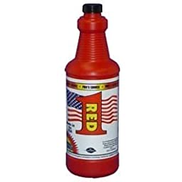 CTI 1075-QT Pro\'s Choice Red 1 Synthetic Stain Remover