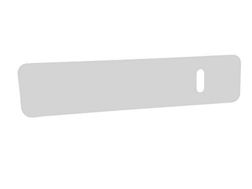 Rehabilitation Advantage Durable White HDPE Polyethylene Transfer Board with Hand Hole, 24