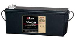 Replacement For TROJAN 8D-AGM Battery