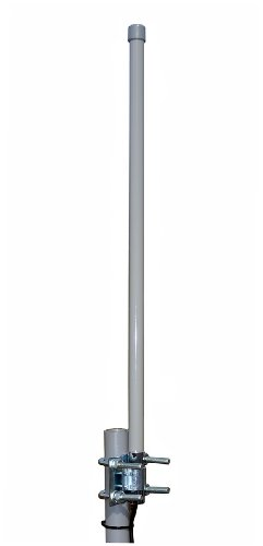 Proxicast 3G / 4G LTE 9 dBi Omni-Directional Permanent Mount Outdoor Fiberglass Antenna for Verizon, AT&T, Sprint, T-Mobile, USCellular and WiFi / 900 MHz - Multi Directional Fibers