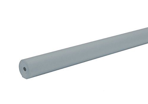Pacon ArtKraft Duo-Finish Paper Roll, 4-feet by 200-feet, Gray (67894)