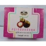 Abhaibhubejhr Thai Mangosteen Peel Soap 100 G. Thailand Product by Abhaibhubejhr
