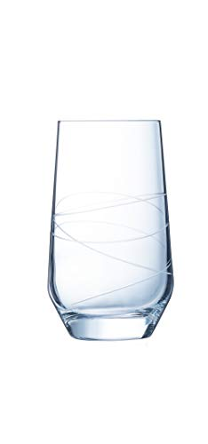 Eclat Luminarc Abstract P0860 Set of 4 Water Glasses 40 cl
