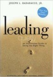 img - for Leading Quietly An Unorthodox Guide to Doing the Right Thing - 2002 publication. book / textbook / text book